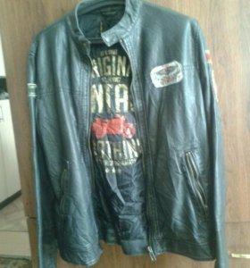 Кожанная куртка новая