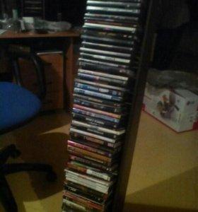 Полка для дисков,вместе с дисками.