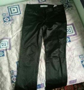 Новые шелковые брюки
