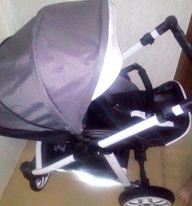 Детская коляска в хорошем состоянии для мальчика.