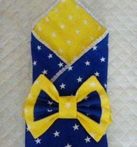 Продам универсальный конверт одеяло на выписку