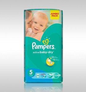 Подгузники Pampers Active baby-dry 5 58 шт.