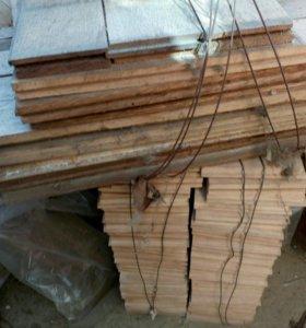 Паркет б/у на дрова для мангала