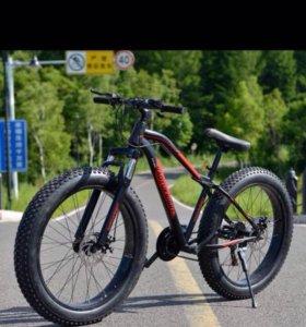 Велосипед горный фэтбайк