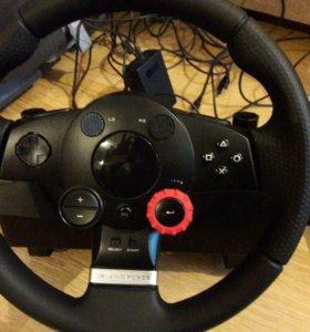 Руль на Sony playstation 3