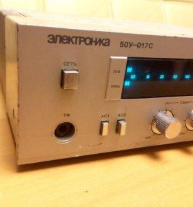 Усилитель высшего класса электроника 50у-017с