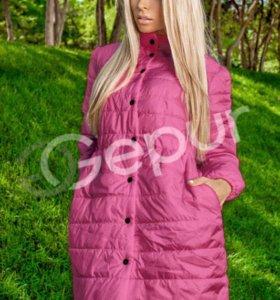 Продам стеганое пальто