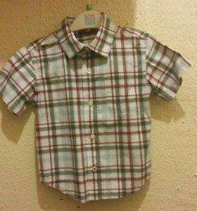 Рубашки 24 мес, 98 р.