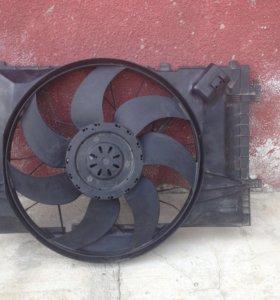 Вентилятор на мерседес- с203 кузов