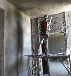 штукатурка цементно-песчаная механизированным спос