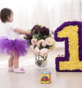 Цифра на день рождения/ для фотосессии
