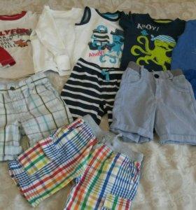 Пакет вещей на мальчика 86-92рост