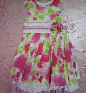 Платье 100% хлопок р 104-110 Турция