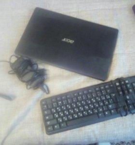 Acer 2008года +клавиатура+зарядное устройство.