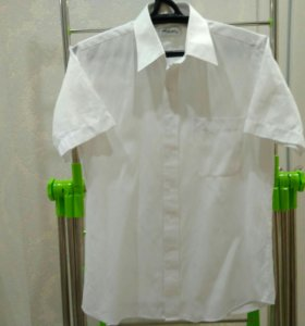 новая мужская рубашка, размер 46-48