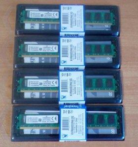 Оперативная память Kingston DDR2 2Гб. новая