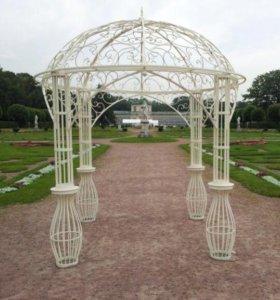 Свадебные кованые арки