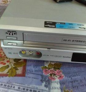 Пригрыватель двд и кассетный