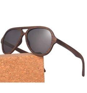 Солнцезащитные очки Golandec из дерева