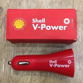 Зарядное устройство в автомобиль два USB 2.1А и 1А