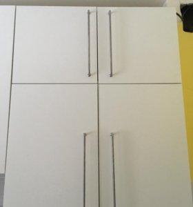 Навесные шкафы Икея Метод, 80см ширина