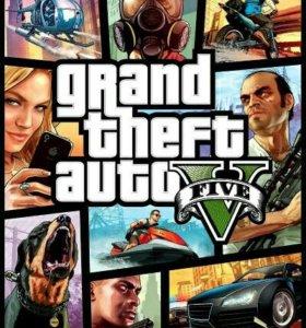 Новый лицензионный диск GTA5 на ПК