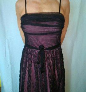 Новое Платье трикотаж