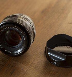 Fujifilm 35mm 1:1.4