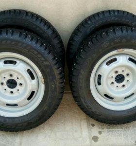 Зимние колеса на 13
