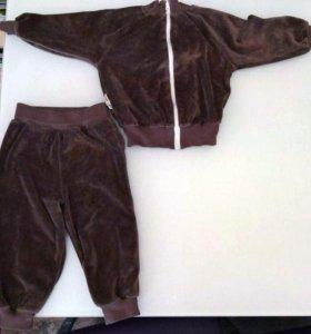 Велюровый костюм Lucky Child, р. 80-86