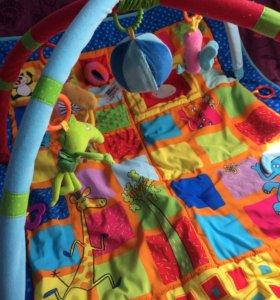 Продам развивающий коврик с музыкальной игрушкой