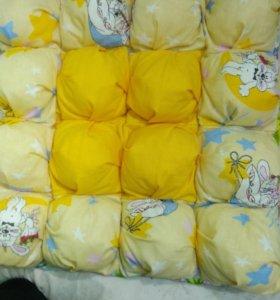 Шью на заказ детские подушки, одеяла