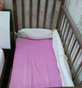 Детская кроватка с маятником Кайеркан