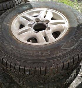 Зимние колеса на Лексус ЛХ470, Лэнд Крузер
