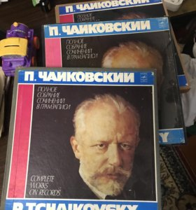 Винил с Чайковским