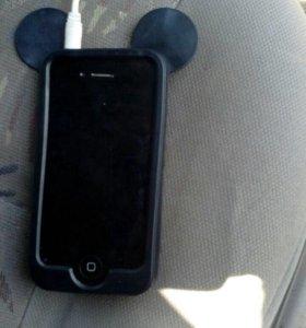 iPhone4s на 8гб