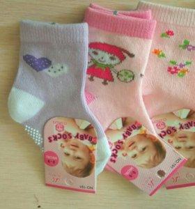 Детские носочки 0-9 м