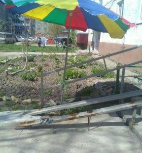 Зонт раскладной для уличной торговли