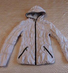 Куртка двухсторонняя бу размер 42-44