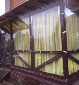 Мягкие окна, беседки, шатры, тент