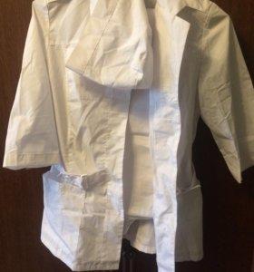 Медицинский халат и костюм