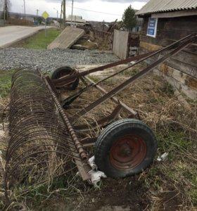 Грабли тракторные