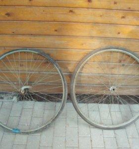 Колеса от велосипеда времена СССР 70см