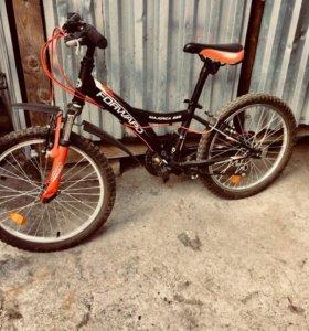 Велосипед колесо 20 и 18 скорость  новый
