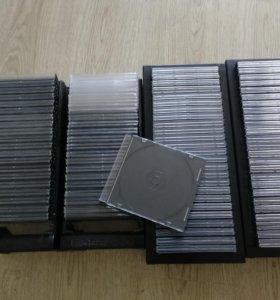 Стойки под CD-DVD диски,180 slim боксов