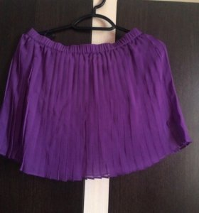 Новая плиссированная юбка