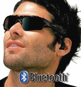 Очки с плеером и Bluetooth гарнитурой курьером