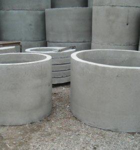 Кольцо колодезное диаметр 1метр
