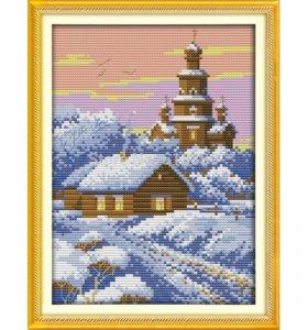 Набор для вышивания крестом Зимний вечер