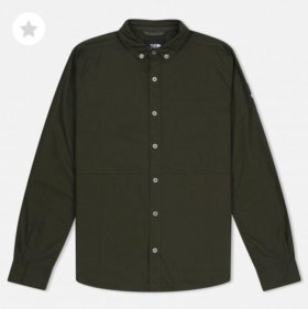 Мужская рубашка The North Face с патчем